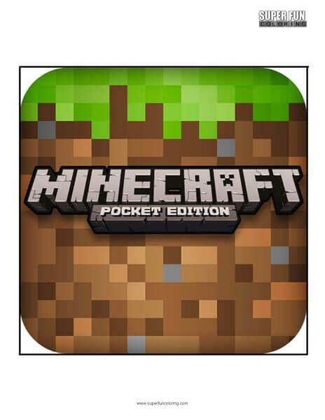 Minecraft App Coloring Page Android Iphone   Coloring ...