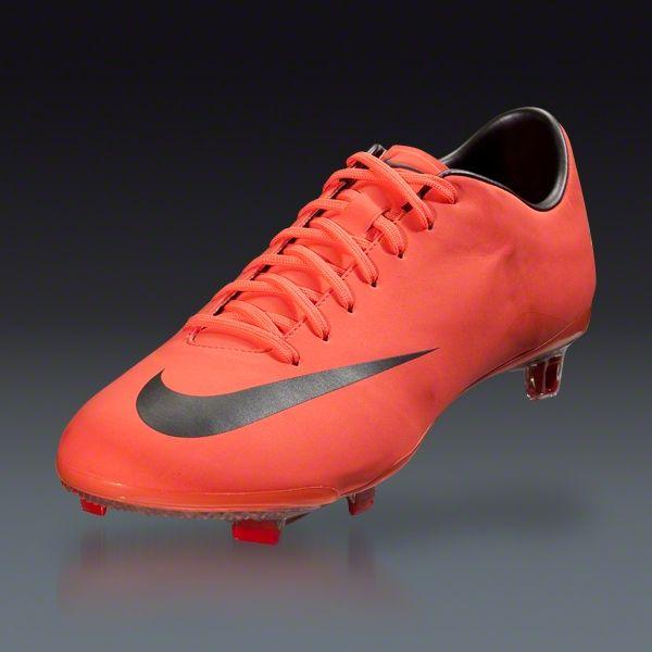 Nike Mercurial Veloce AG - Volt/Black/Bright Citrus Turf Soccer Shoes   Soccer  Cleats   Pinterest   Soccer cleats, Cleats and Soccer ball