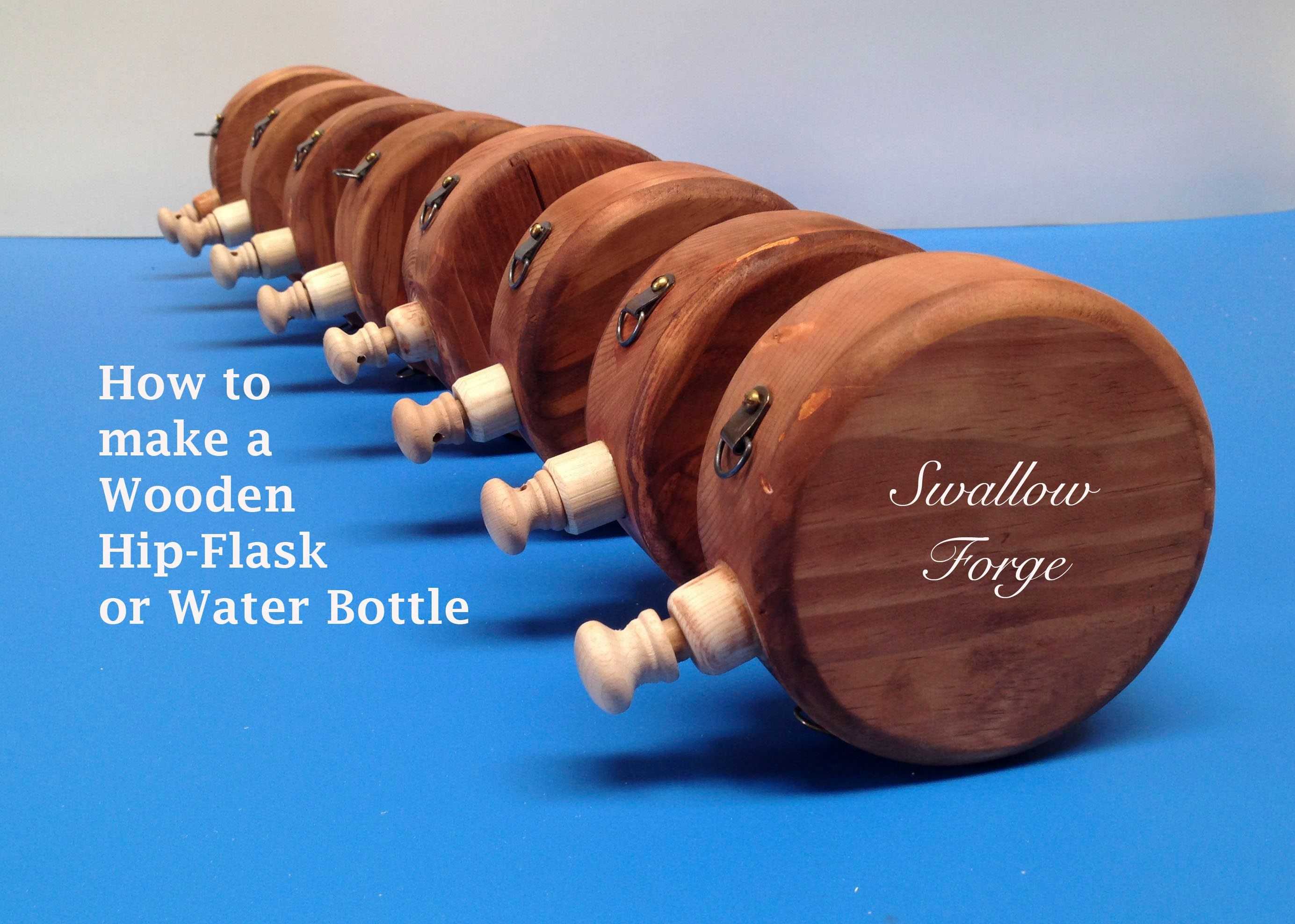 How To Make A Wooden Water Bottle Or Hip Flask For Reenactment Steampunk Larp Or Cosplay Flask Diy Wooden Wooden Beer Mug