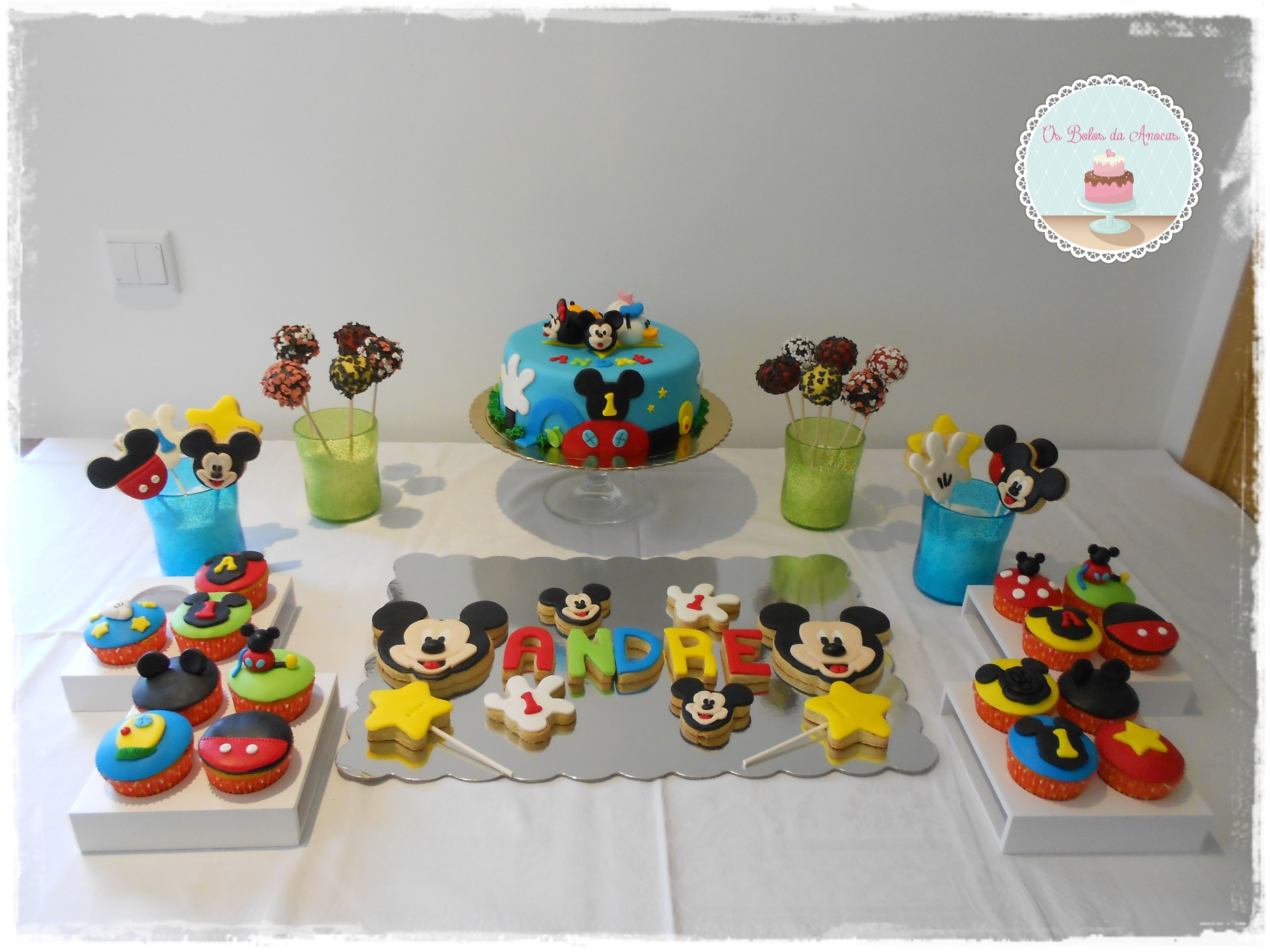 Dessert table Mickey Mouse Clubhouse | Dessert table | Pinterest ...