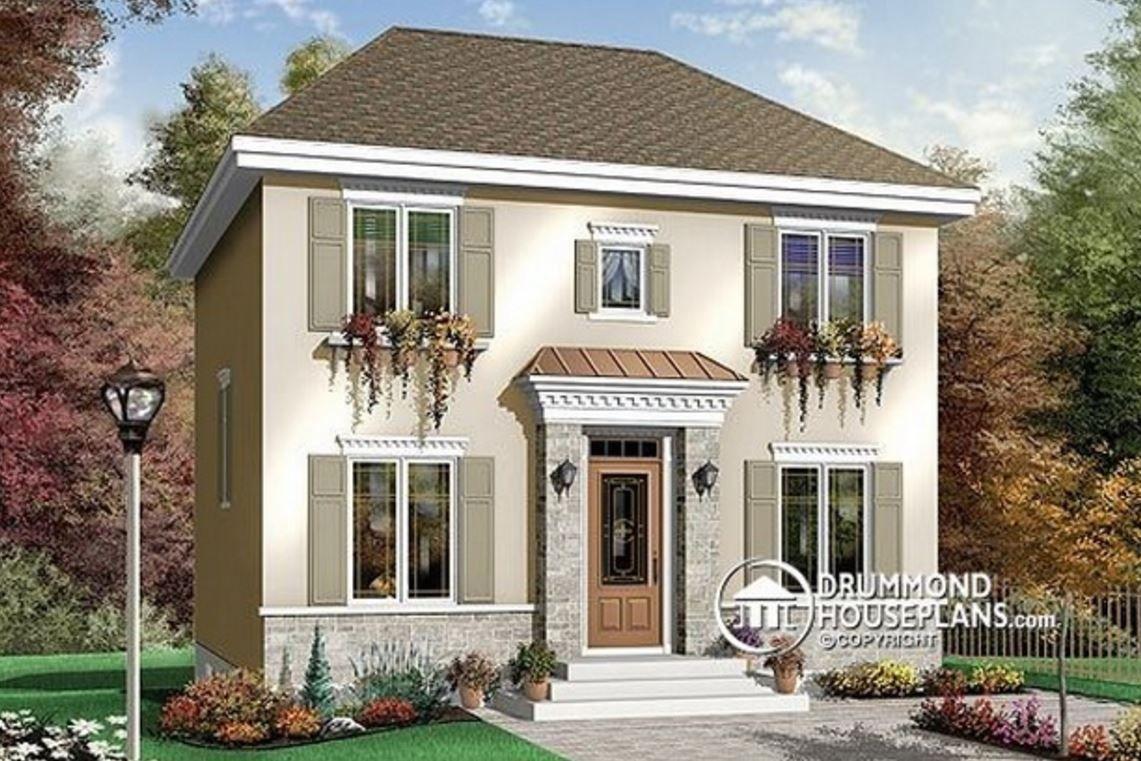 Casas Sencillas Para Construir En Dos Pisos Modelos De Casas Sencillas Casa Sencillas Casas