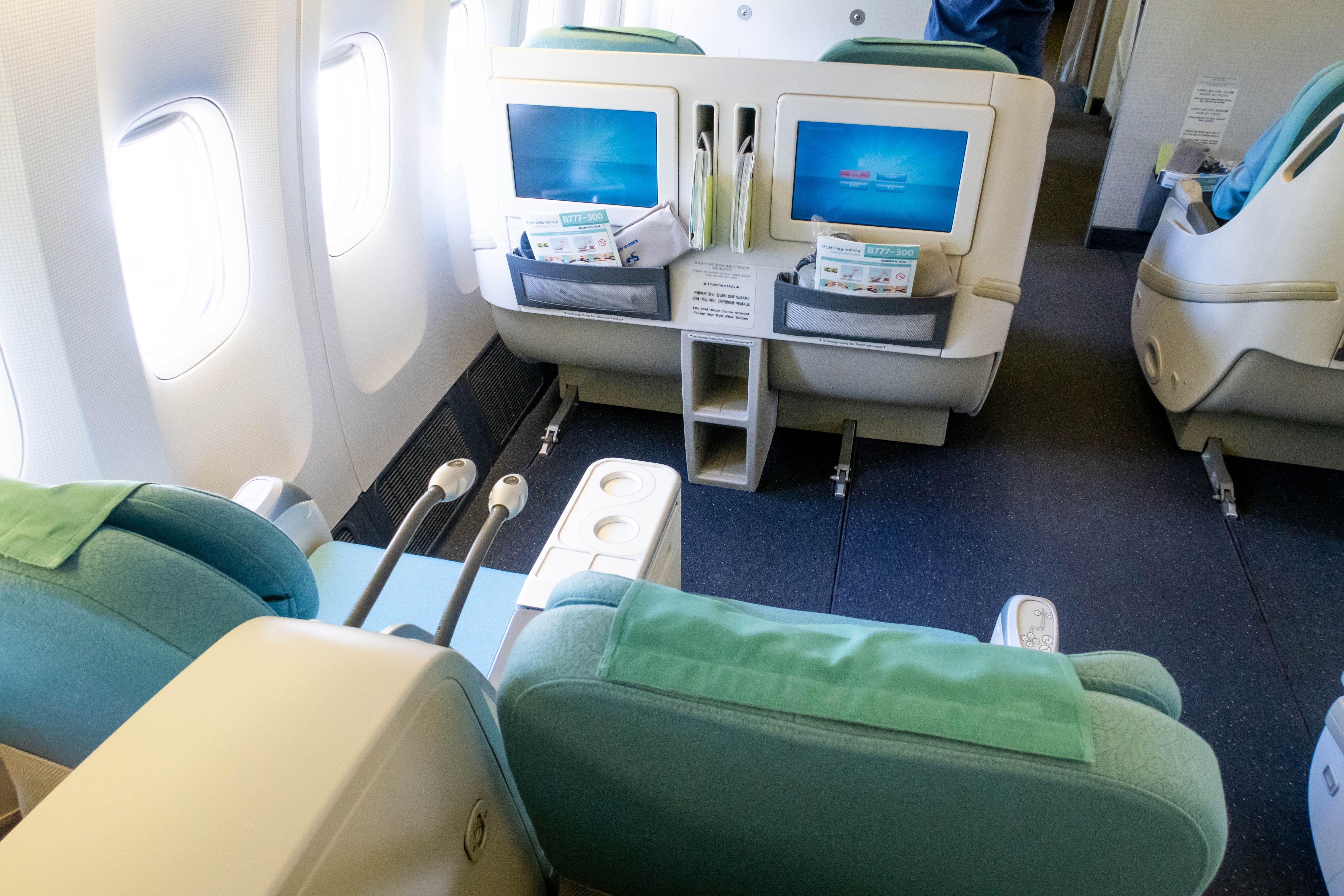 Korean Air 777300 Business Class (Review & Photos