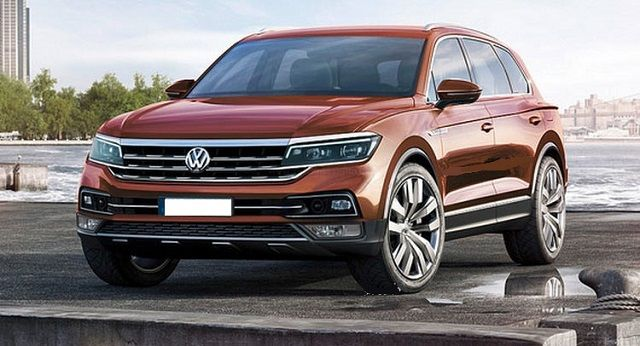 With The Concept Of Its All New 2018 Vw Touareg It Is Confirmed