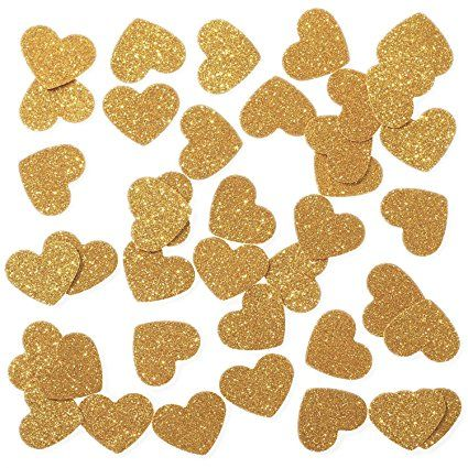 AmazonSmile Ling\u0027s moment Confetti Hearts for Wedding party, Table - confeti