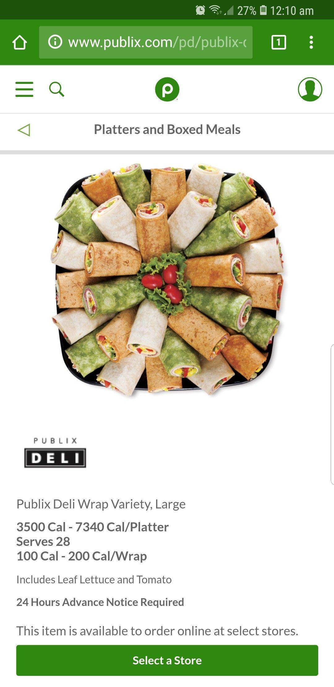 Pin by chi mai on catering publix deli lettuce tomato