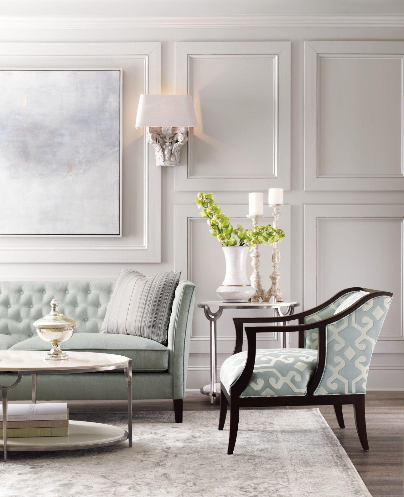 Bernhardt Furniture Macqueen Home Interior Design Living Room