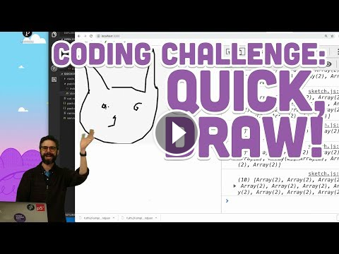 Coding Challenge 122 Quick Draw Computer Science Programming
