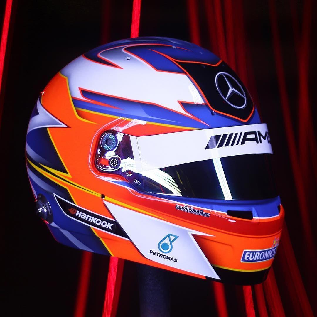 c6596048d2447 Freshly finished Bell HP7 for Helmart official Mercedes DTM driver