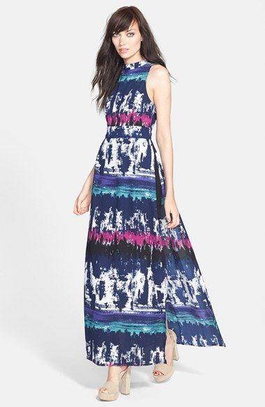 Leith Side Slit Maxi Dress // @Nordstrom · Womenu0027s Maxi DressesWedding Guest  ...