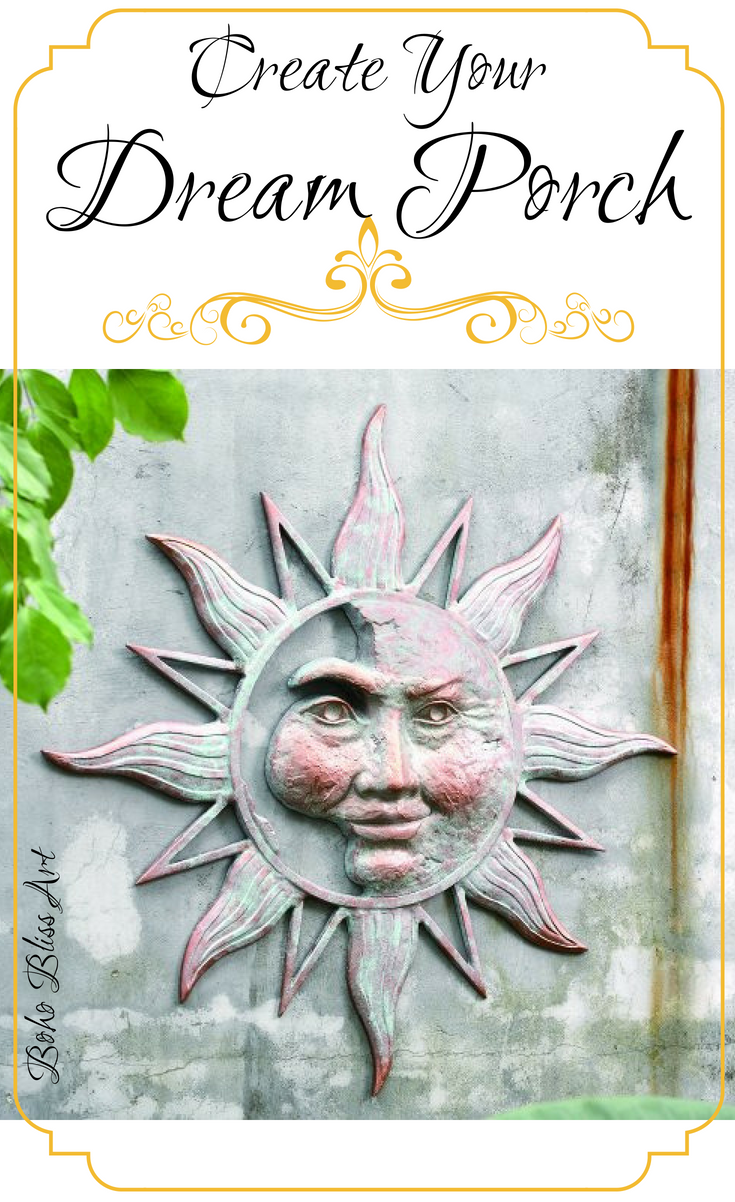 Perfect sun moon wall art for on the porch in yard or home decorating brought to you by spi who   erse selection of products is valued also rh pinterest