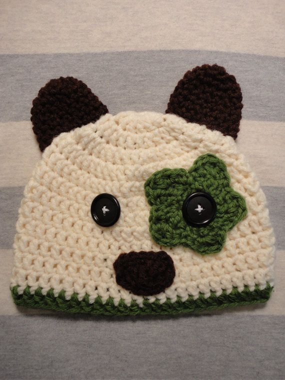 Puppy Crochet Hat  e6c53b83c8b