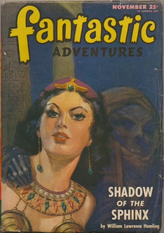 Pulp CoverShadow of the Sphinx
