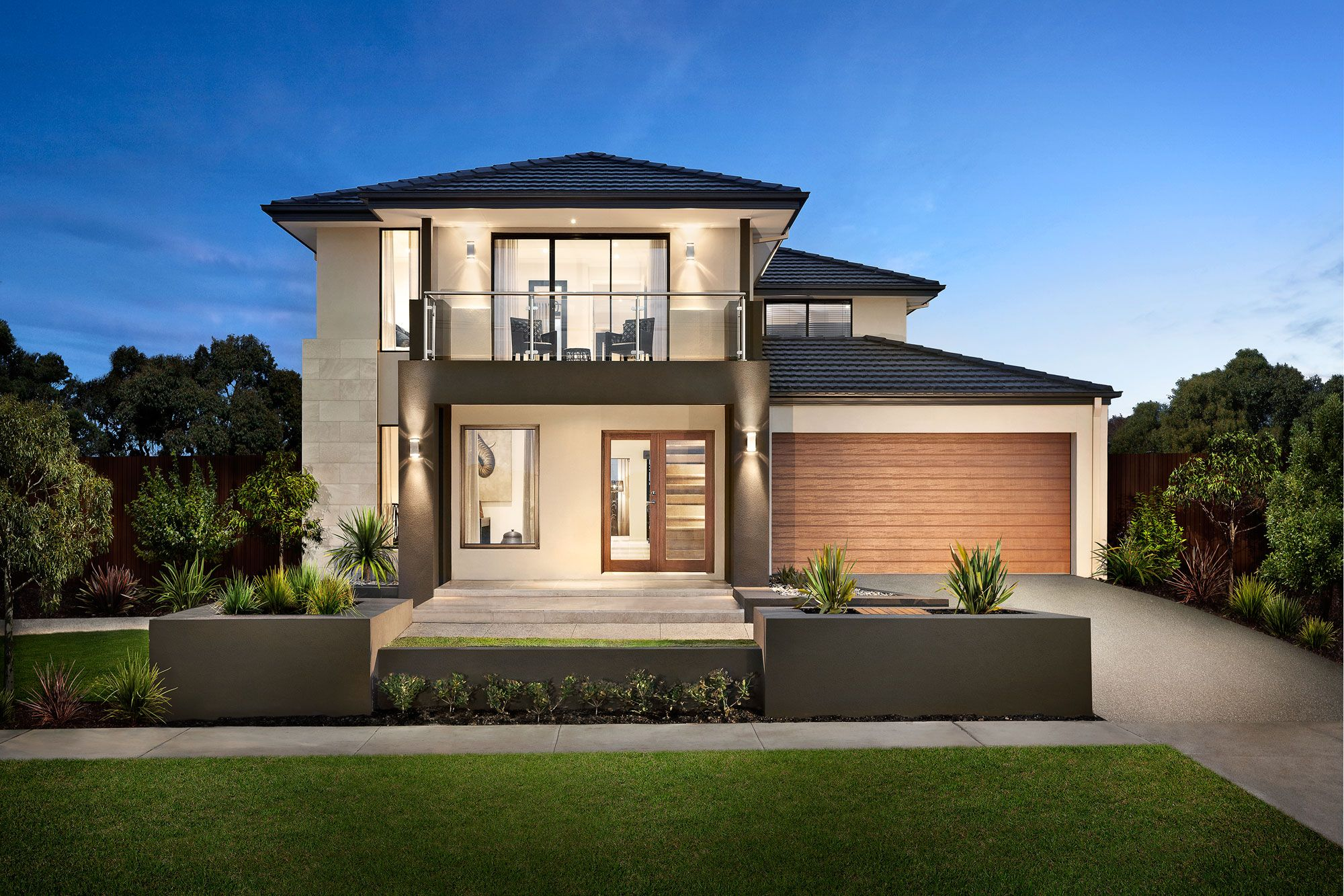 Carlisle homes thompson 35 breeze facade thompson 35 for Small house facade design