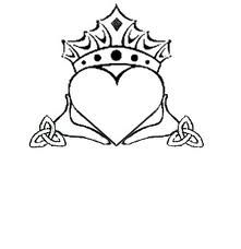 I'm liking the crown on this one  For my claddagh tattoo