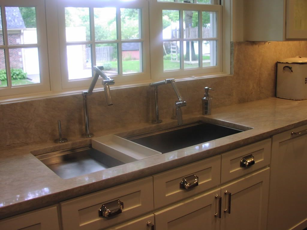 kitchen inch with faucet faucets sink pin stages steel stainless pasta kohler