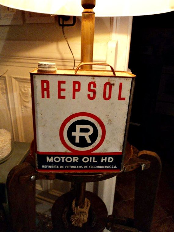 Repsol Motor Oil Can - €15,00 | Oh just can it! | Vintage
