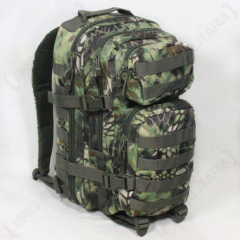 MANDRA Woodland Camo MOLLE RUCKSACK Assault Small Bag 20L BACKPACK Tactical Pack