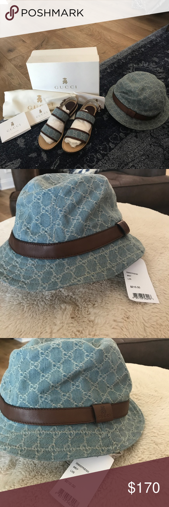 Gucci Fedora Bucket hat Kids Gucci bucket hat GG new with tags . Matching  shoes in other listing Gucci Accessories Hats 3cc1d198eb0a
