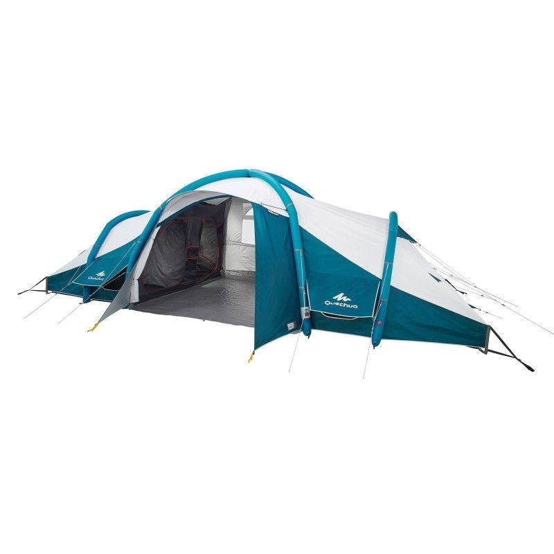Quechua 8 Personen Familienzelt Air Zelt Campingzelt 4 Schlafkabinen Seconds Pop Up Tent Tent Kamperen