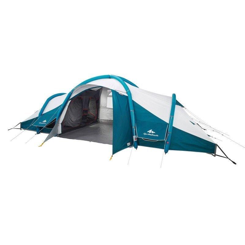 Quechua 8 Personen Familienzelt Air Zelt Campingzelt 4 Schlafkabinen Seconds Kamperen Kamperen
