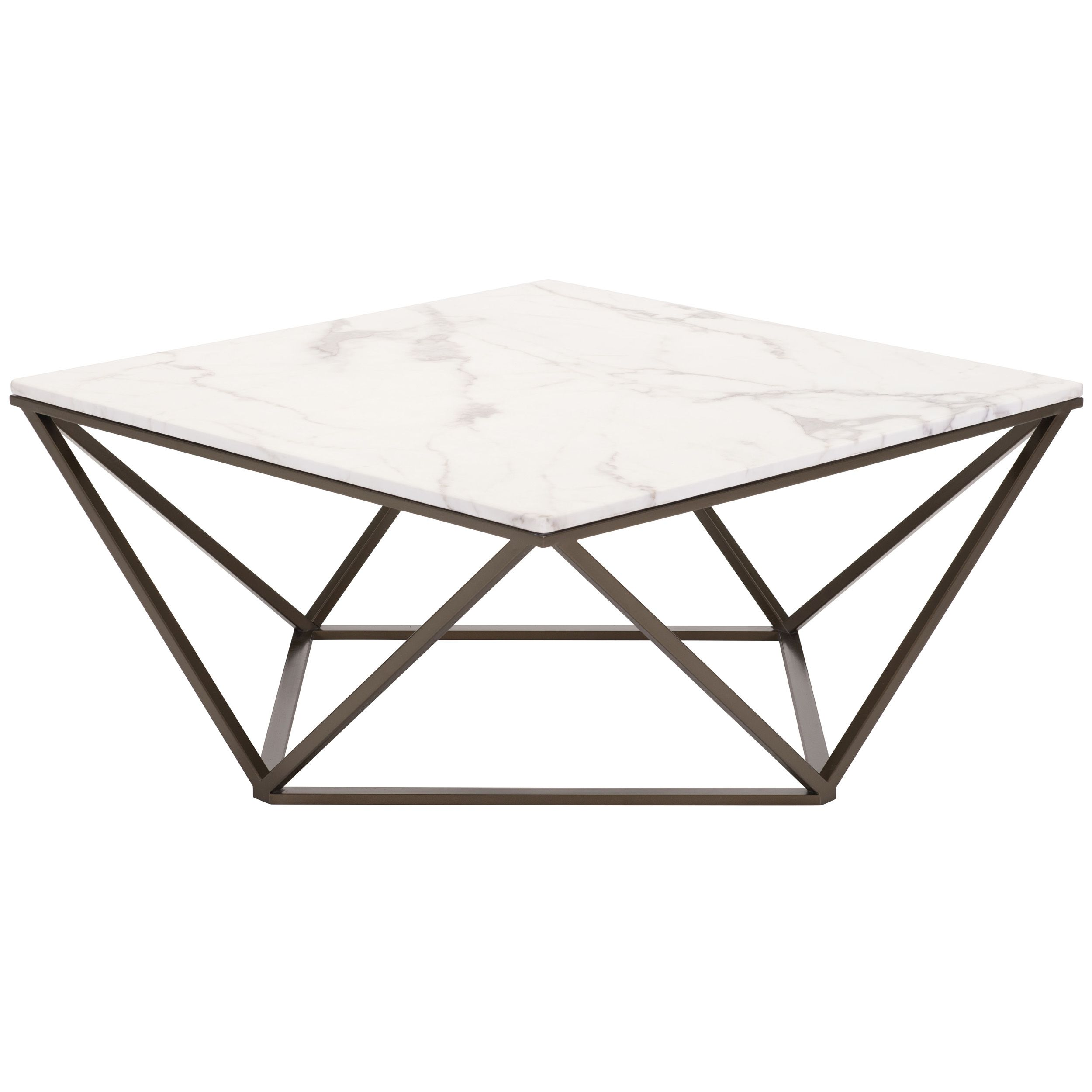 Tintern Coffee Table Marble Top Coffee Table Faux
