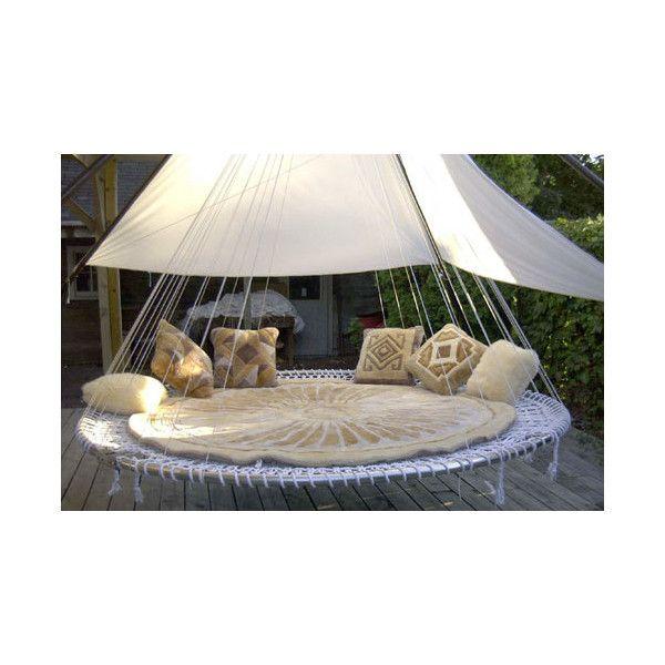 Hammock Bed Outdoor Hanging Bed Outdoor Beds Outdoor Bedroom