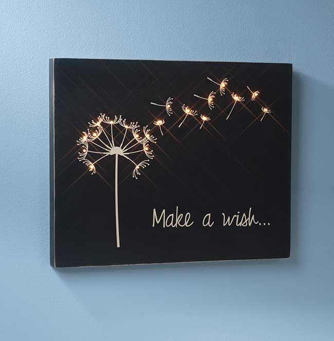 Photo of Make a Wish Wooden Canvas | Craft Warehouse