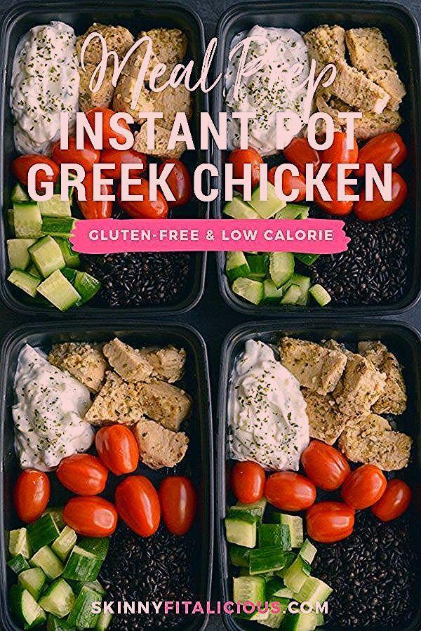 Essenszubereitung Griechische Hühnchen Quinoa! In weniger als 30 Minuten in einem Instant Pot zube