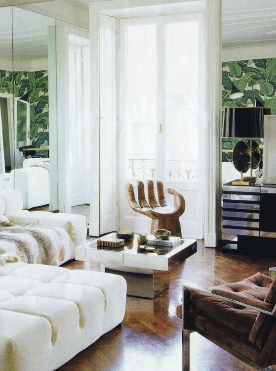 Extraordinary Lounge Decoration In Milan by Nate Berkus   Pinterest ...