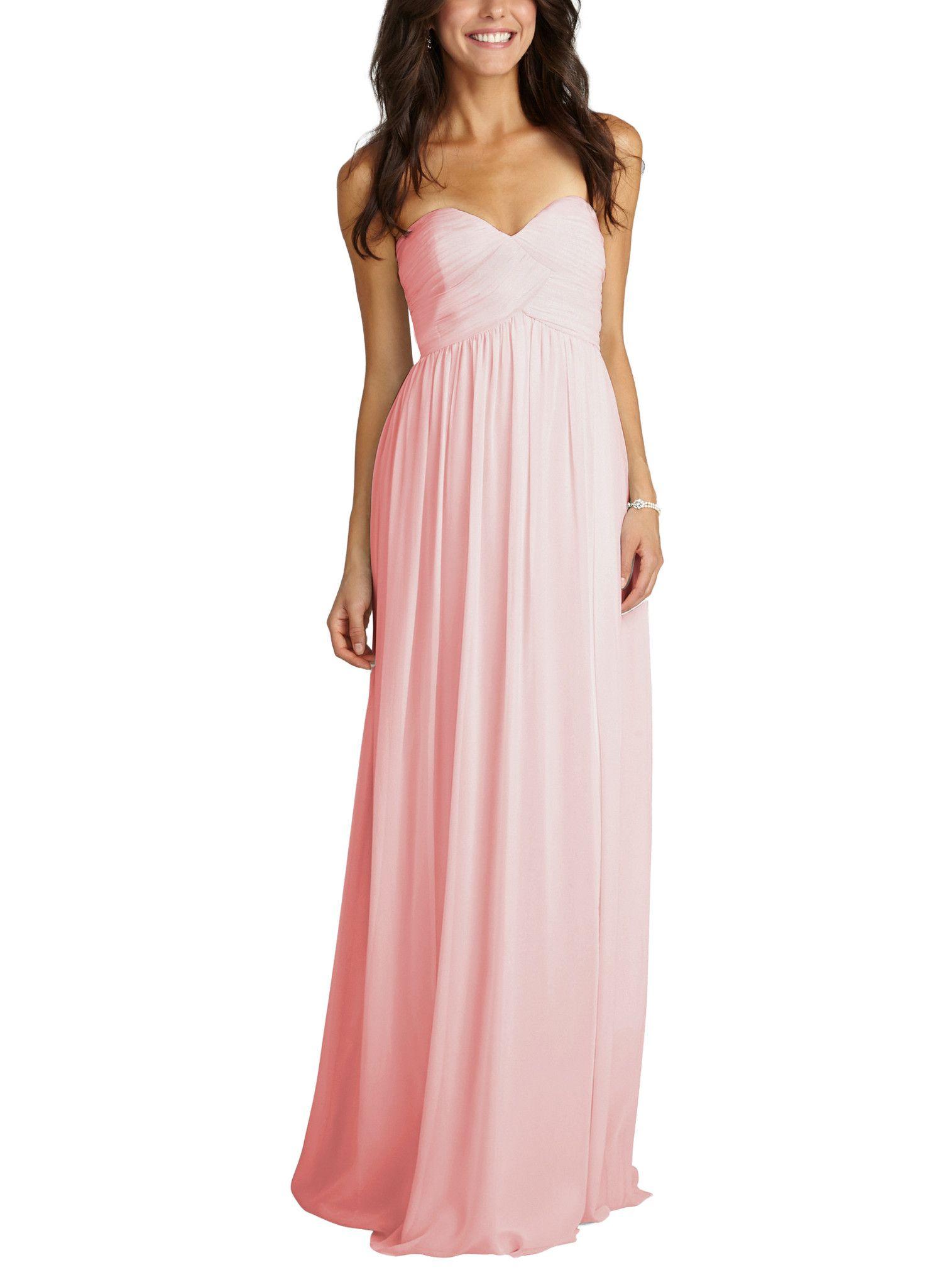 Donna Morgan Laura | Alicia\'s Bridesmaid Dresses | Pinterest