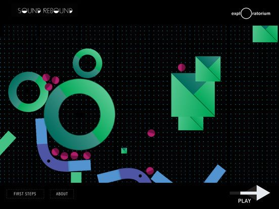 Sound Rebound (Exploratorium) app review by Katie Bircher at
