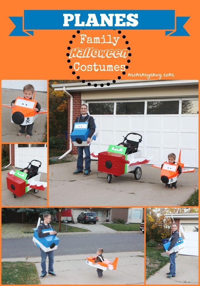 Planes Themed Family Halloween Costumes Family halloween - halloween costume ideas for family