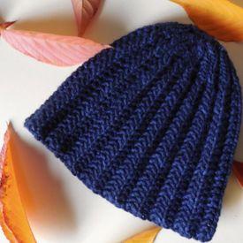 Knit Rib Stitch Hat : This  Mistake Rib  stitch hat is squashy, springy, and so warm. Tutorial for ...