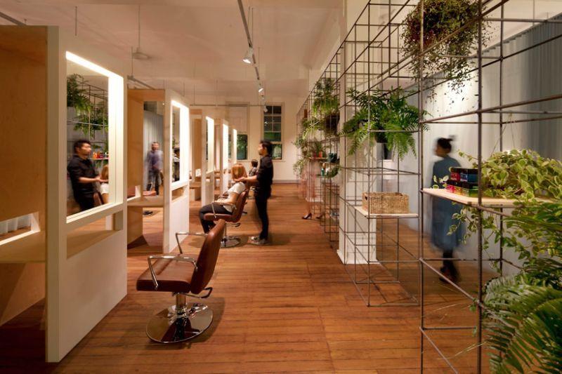 Salon Belleza Moderna En Sydney Deslumbra Con Su Sustentable Diseno
