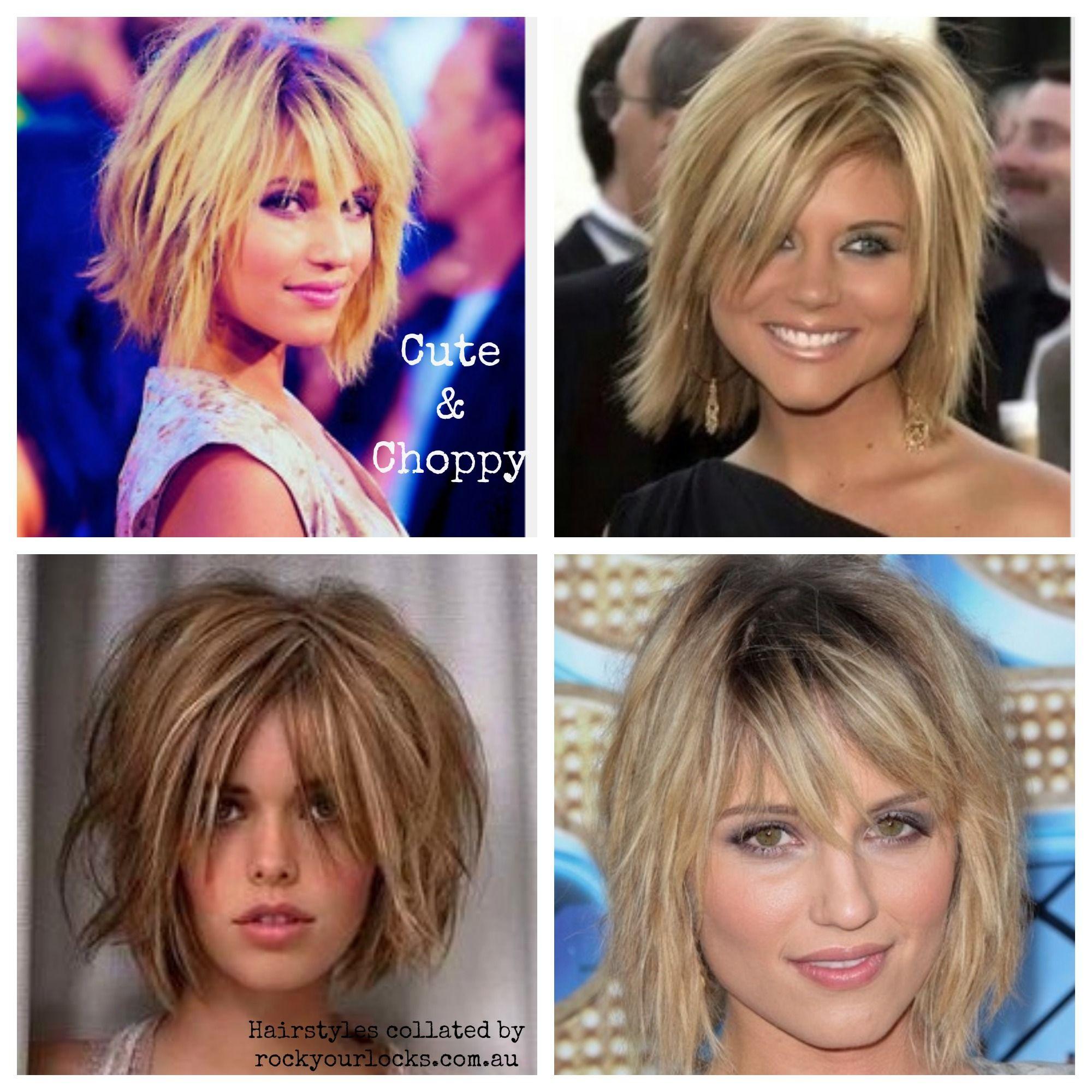 Medium Length Hairstyles - Cute and choppy hairstyles