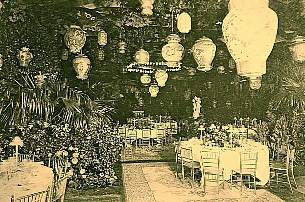 Mrs. Alva Vanderbilt Belmont's Chinese Ball with wonderful paper lanterns, 1914