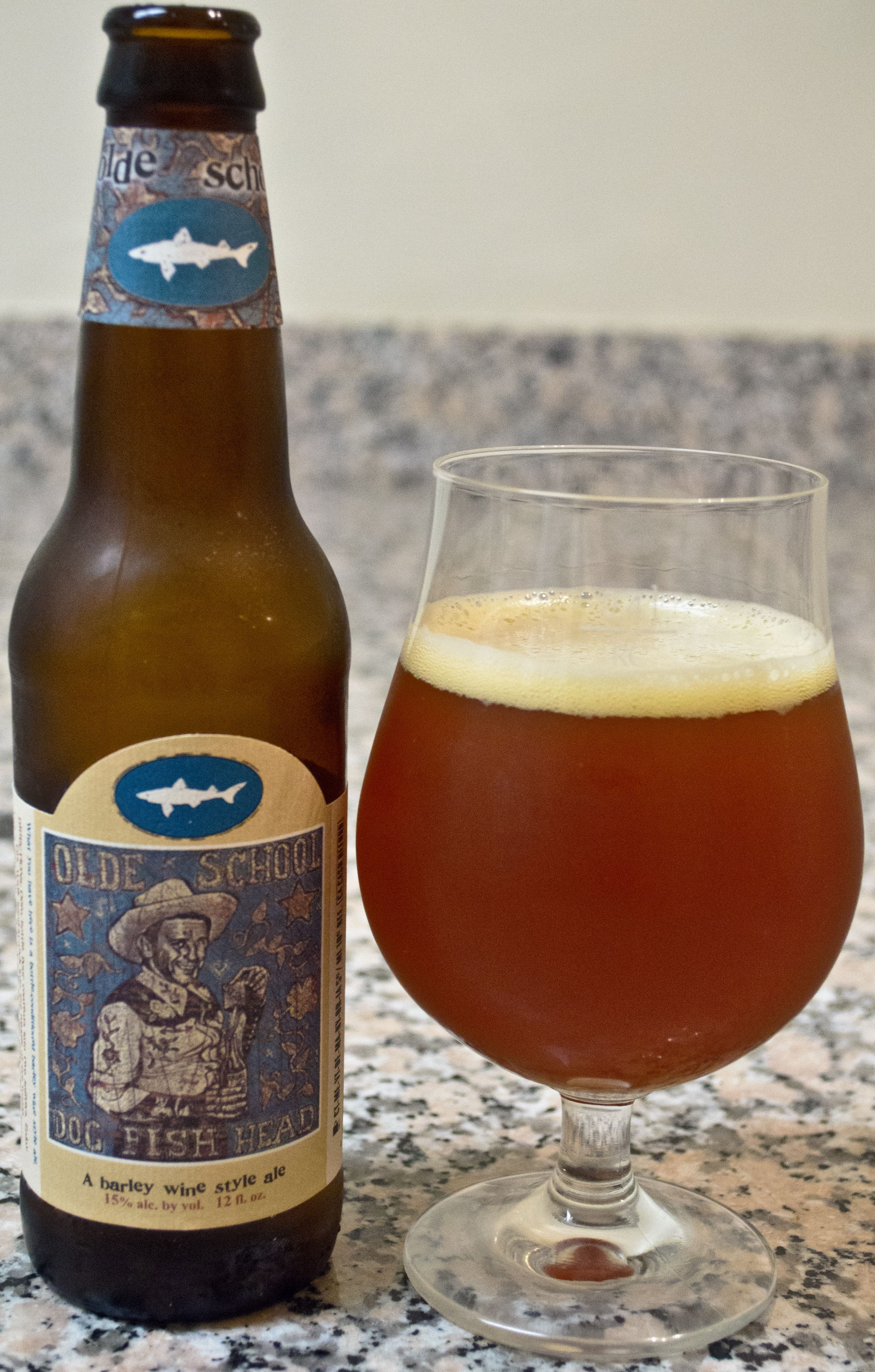 Dogfish Head's Olde School Barleywine - This is one really big beer that is super bold and strong from start to end. The malts and brown sugar flavor are really rich right off the bat, but the hops and other flavors, alongside the big body, find a way to contain the beer and give it a bit of balance. I think a good two years of age also did quite a bit of good for this one.
