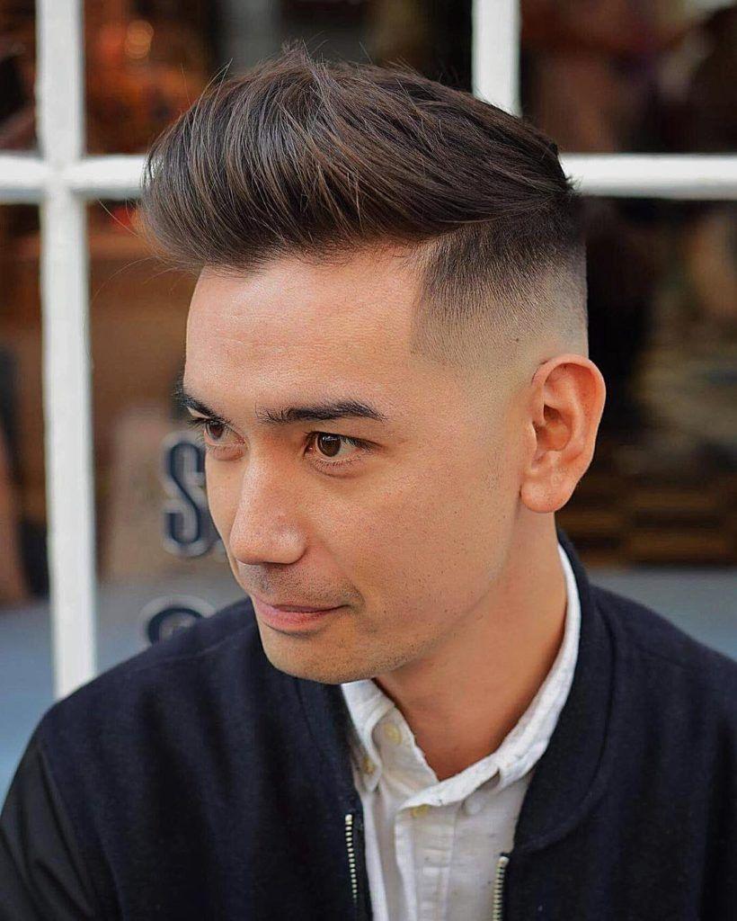 15 Männerfrisuren für einen Rückzug Haaransatz | Coole