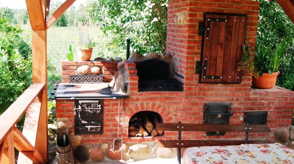 Kuchnia Ogrodowa 1 Pizza Oven Outdoor Backyard Kitchen Outdoor Smoker