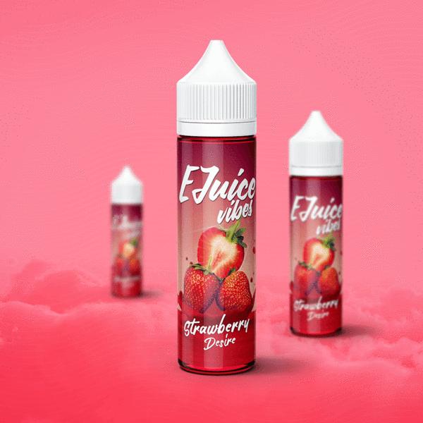 Sweet ripe freshly picked strawberries  75% VG Premium