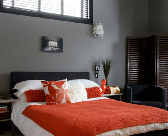 Gray And Red Bedroom Ideas for asian paint color references | colors | pinterest | asian