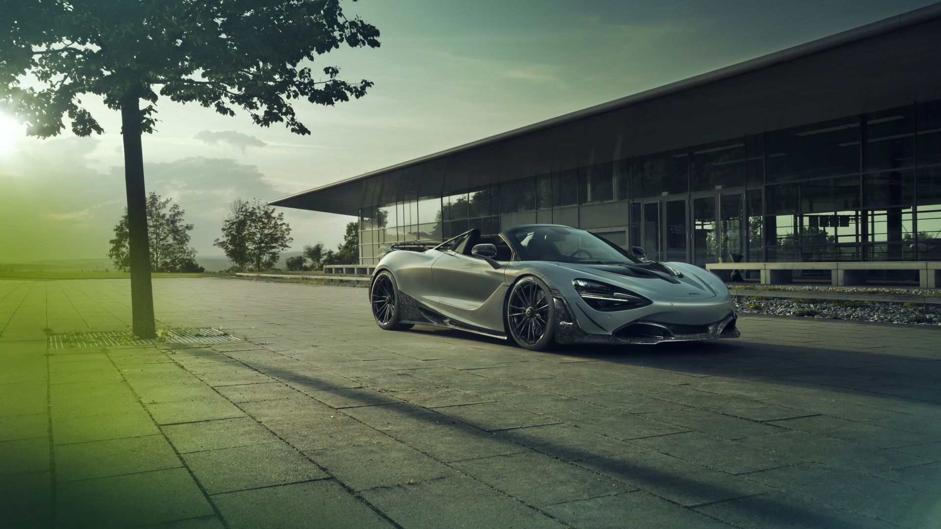 1920x1080 Supercar Mclaren 720s Grey Wallpaper Car Wallpapers