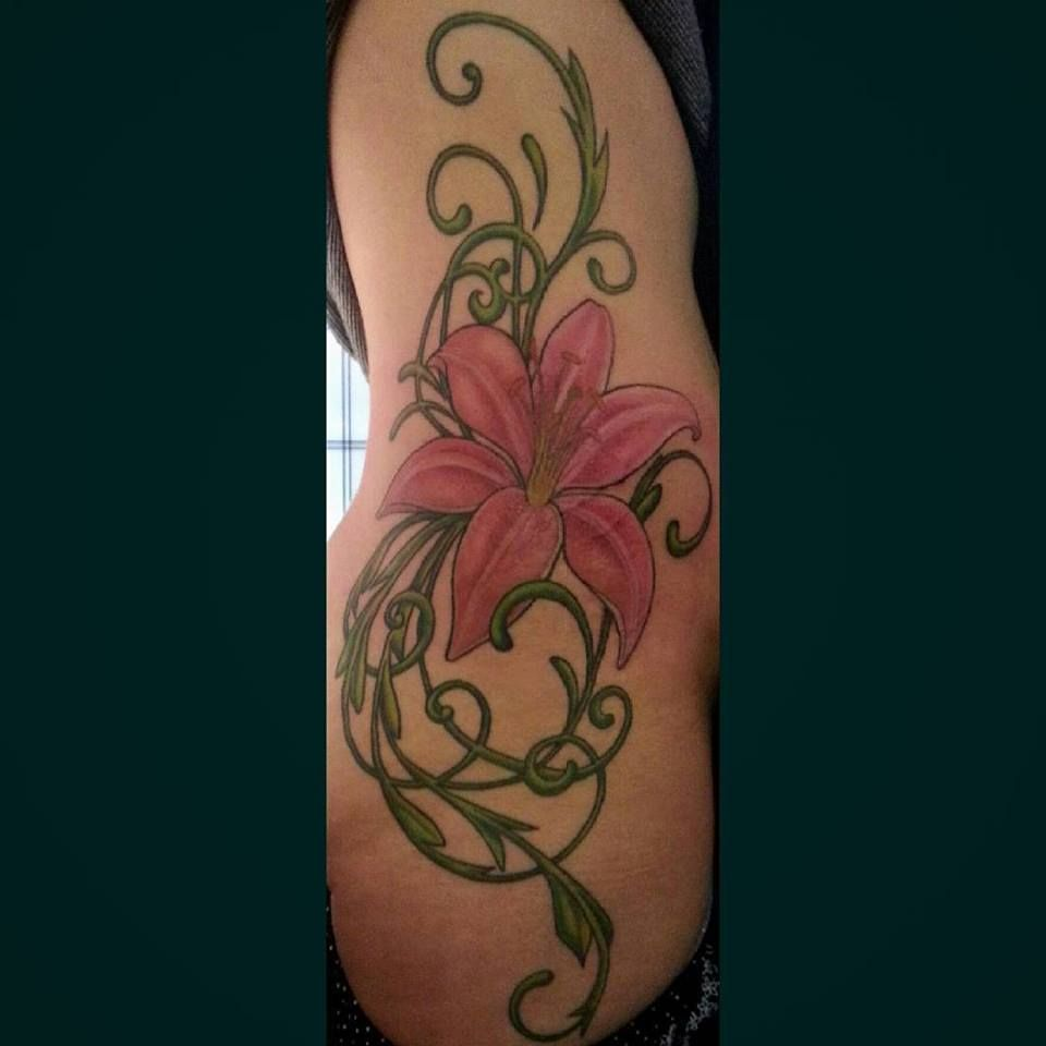 60 Amazing Lily Flower Tattoo Designs For Girls Lily