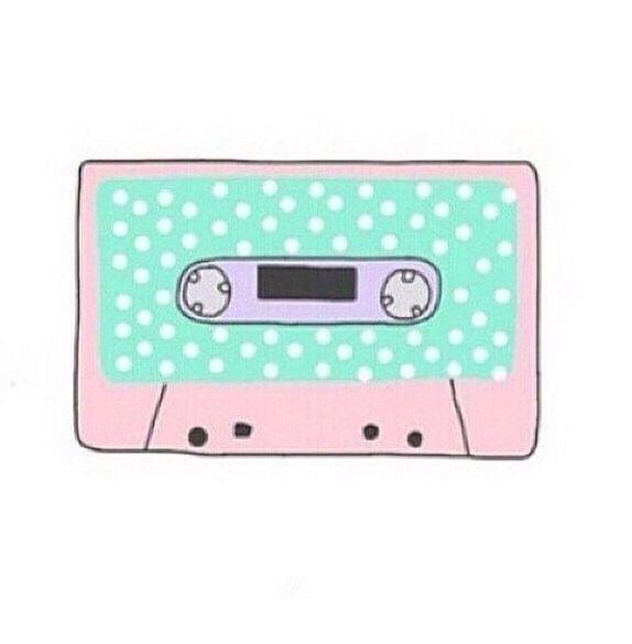 Polka Dot Cassette Tumblr Png Tumblr Stickers Overlays Tumblr