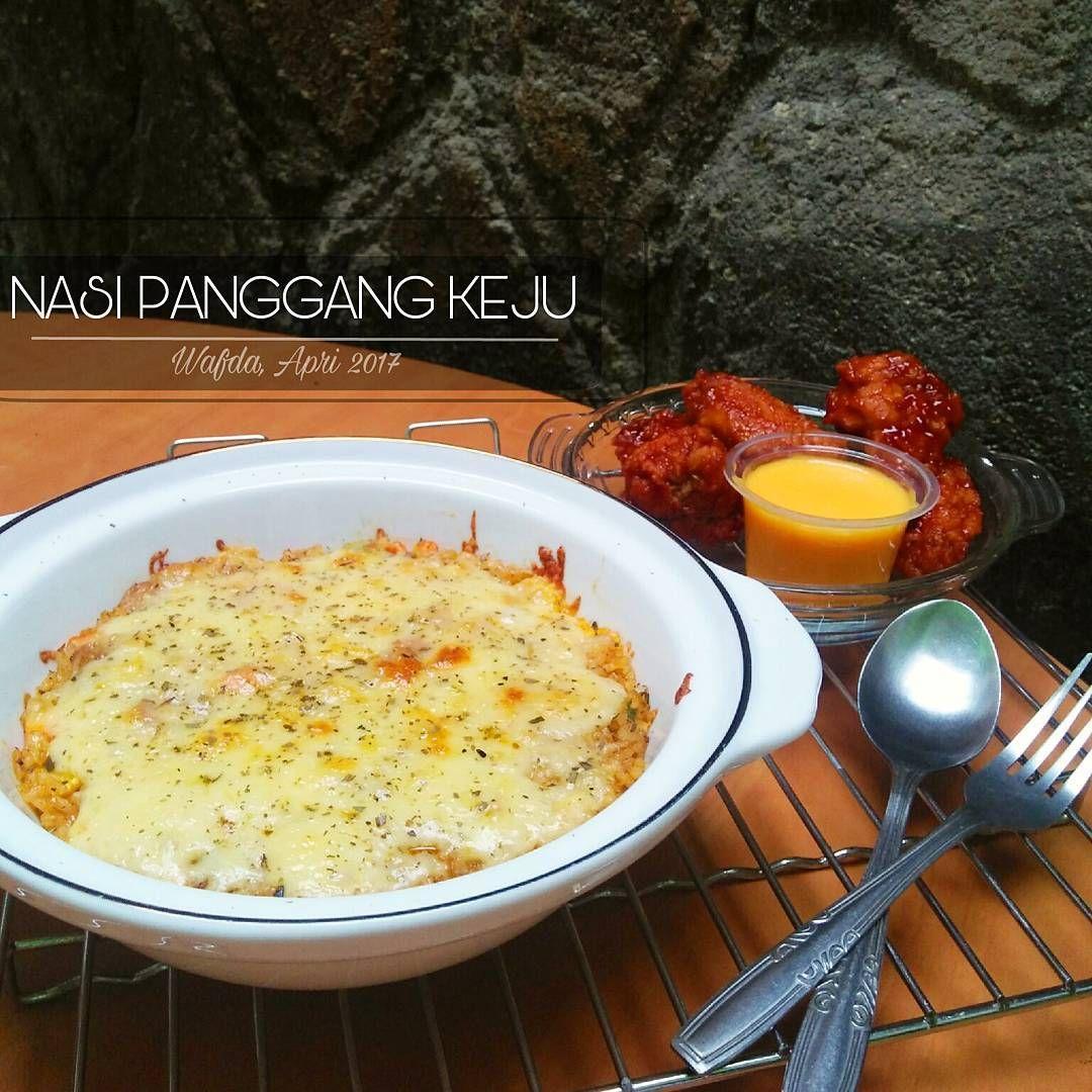 Resep Nasi Panggang Keju By Dapurwafda Resep Masakan Indonesia Keju Panggang