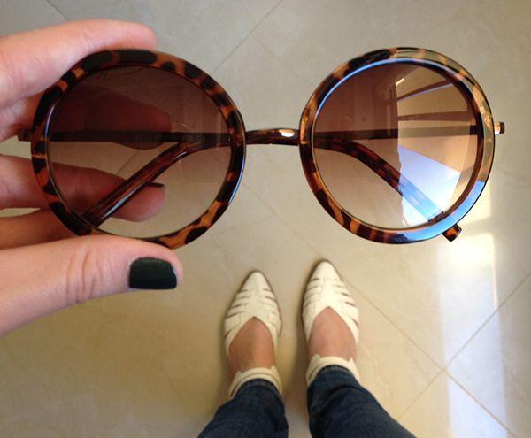 da6b5b81e9490 Óculos Miu Miu inspired - Grande, redondo, de boa qualidade - Comprei no  Ebay