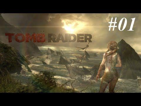 Tomb Raider 2013 Xbox 360 Walkthrough 01 Gameplay Tomb Raider