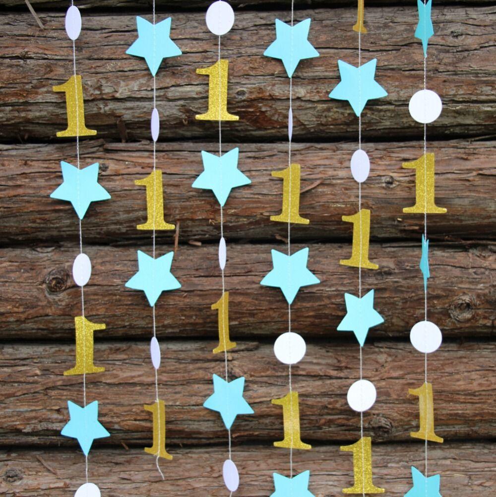 Бумажные украшения для дня рождения своими руками фото 768
