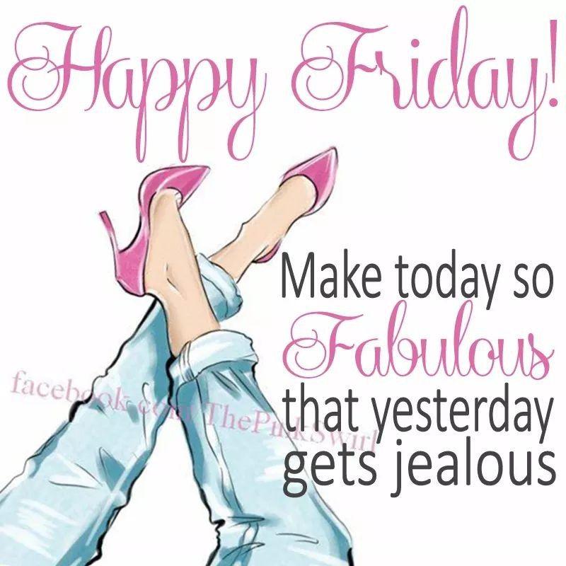# Finally, That FridayFeeling!
