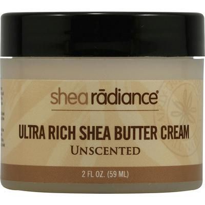 Natural Eco Source - Shea Radiance Ultra Rich Shea Butter Cream Unscented - 2 oz, $10.44 (http://www.naturalecosource.com/shea-radiance-ultra-rich-shea-butter-cream-unscented-2-oz/)
